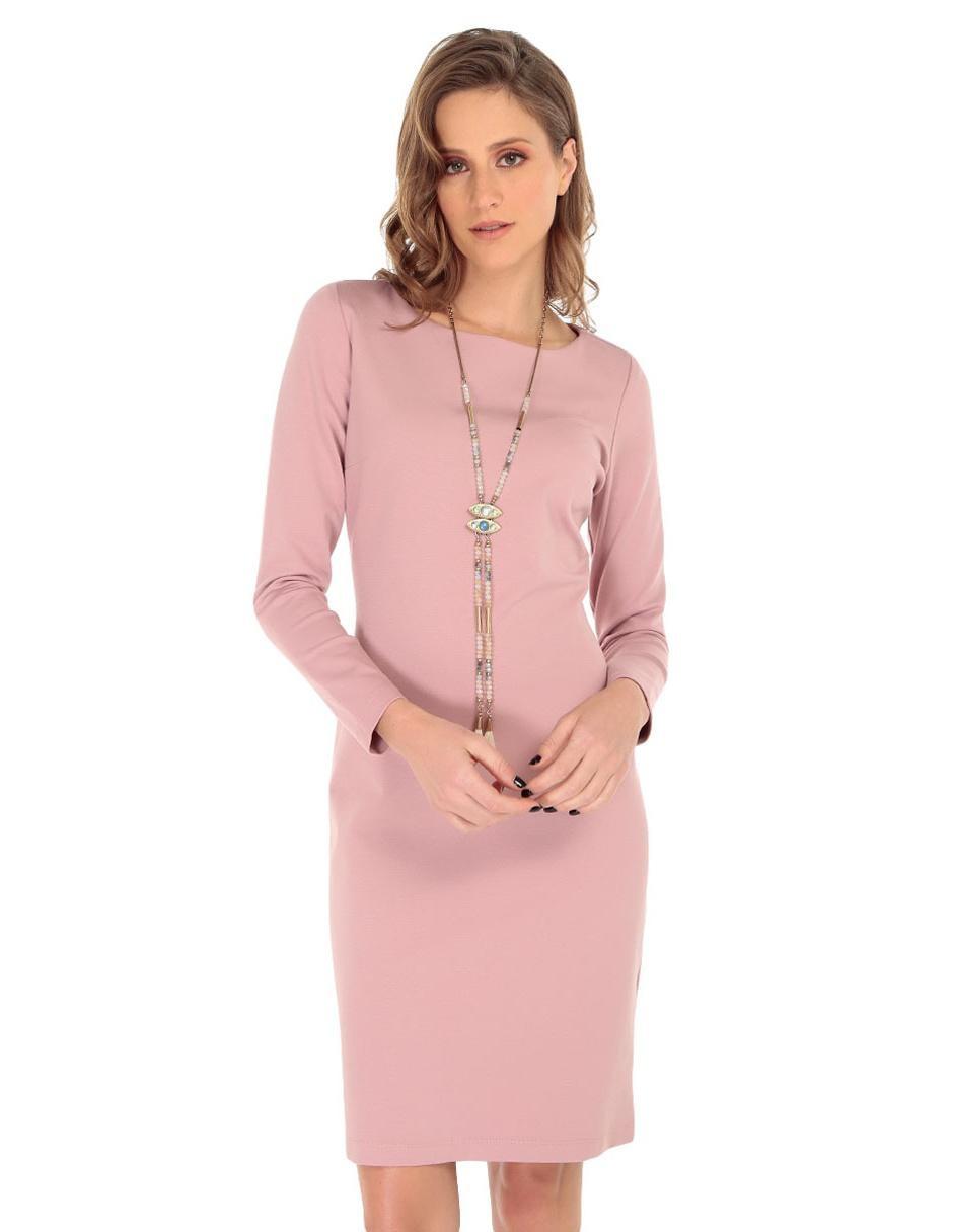 70eb8030a4 Vestido Petite Studio rosa casual