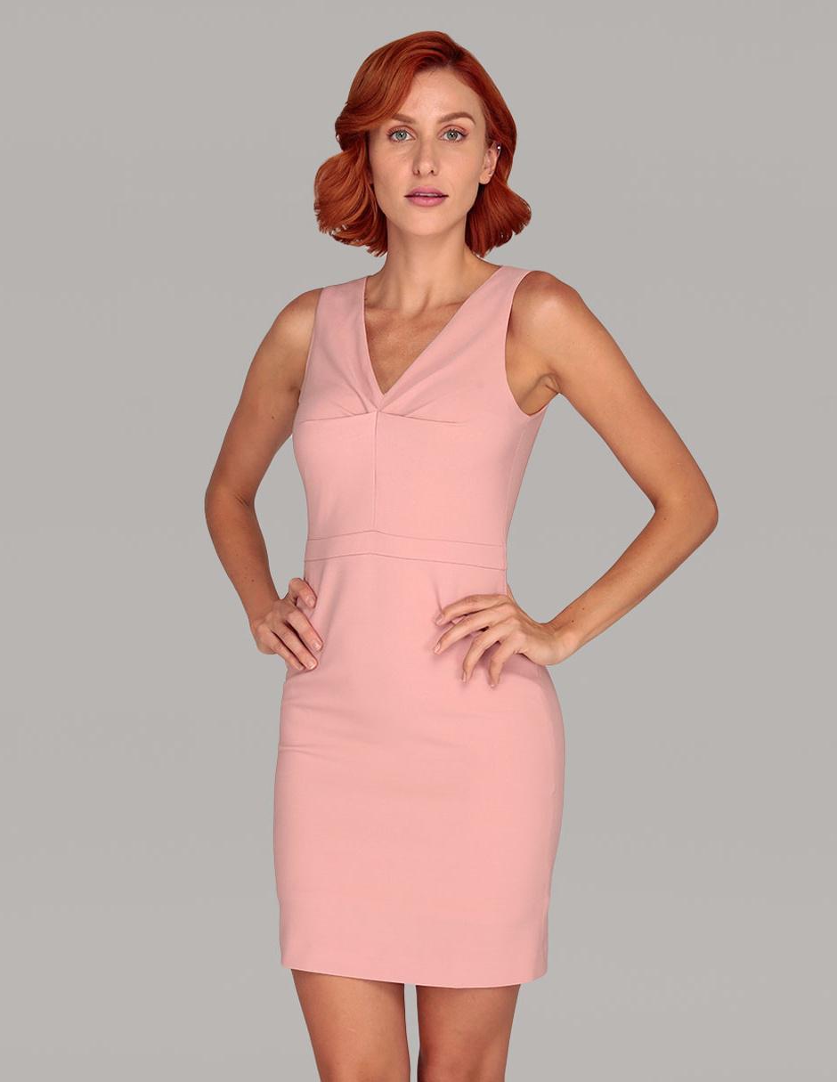 86b5237231 Vestido Atelier Petite rosa casual